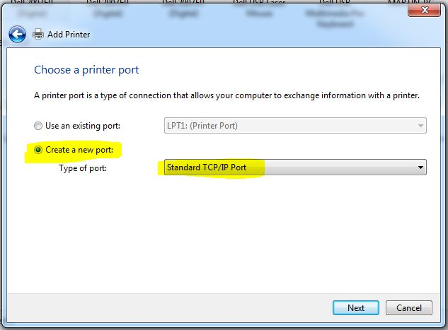 how to add printer in windows 7
